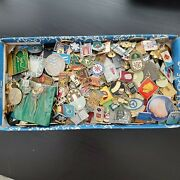 Set 350 Pcs Of Lot Collection Russian Soviet Badge Pin Vintage Ussr Russia СССР