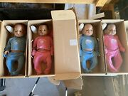 Real Care 3 Baby Think It Over Doll Lot Of Four Dolls
