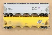 Ho 2 Athearn Chicago And Northwestern Cnw 54ft Acf Centerflow Covered Hoppers Xlnt