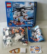 Lego City Coast Guard Helicopter Boat 60013 Complete Instructions Kit-read Below