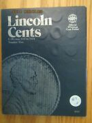 Complete Lincoln Cent Cents 1941 - 1974 90 Coins In A Whitman Album 07 Pds