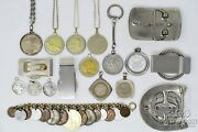 Coin Jewelry Us And Foreign Coin Jewelry Assorted Pieces Must See 18 Pcs 20718