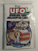 The Ufo Whirling Card Helicopter Card Book And Cd Houdini Magic