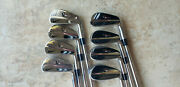 Excellent Condition Nike Vrii Pro Forged 3-pw Irons Tour Issue Dynamic Gold X100