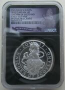 Ngc Pf70 Er Great Britain Uk 2017 Queenand039s Beast Unicorn Scotland Silver Coin 1oz