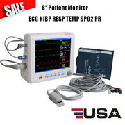 6parameter Vital Signs Patient Monitor Large High-resolution Tft Color Screen Ce