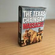 The Texas Chainsaw Massacre Playing Card Deck 52 Cards Horror Collectible Nip