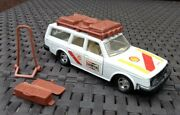 Matchbox Superkings K74 Volvo Estate Rally Support With Rare Accessories
