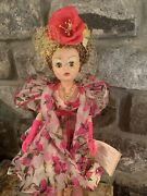 """Vintage Tea Rose Cocktail Cissy Doll Madame Alexander 21"""" Couture Collection"""