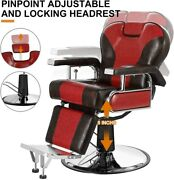 Barber Hairdressers Stylist Chairs Hydraulic Reclining For Beauty Salon Haircuts