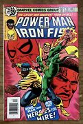 Power Man And Iron Fist 54. Vf/nm. First Appearance Of Heroes For Hire.