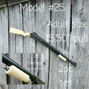 Daisy Model 25 Adult Size 2pc. Replacement Gunstock Set Hand Crafted