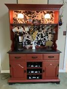Coffee Bar Wine Bar Rise And Wine Cabinet Hutch Dining Room Kitchen