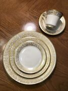 51 Piece Lenox Tuscany China Set -only Previously Used As A Displayandnbsp