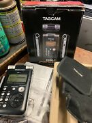 Tascam Dr-1 Digital Recorder With 1gb Sd Memory Card Tested Great Working Order