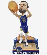 Steph Curry Golden State Warriors On Fire Bobblehead Foco Exclusive Presale Bnib