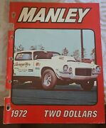 1972 Manley Speed Equipment Catalog Speed Shop Drag Racing Funny Car Super Stock