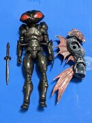 Dc Multiverse Black Manta Trench Warrior Series Loose Complete