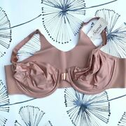 Nwt Soma Womens Vanishing 360 Unlined Front Close Bra, Adobe Rose, Size 36f 3d