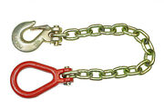 Crane Chain 8mm Hook Lifting Chain Sling Chain 0.7m Chain For Winches W0381
