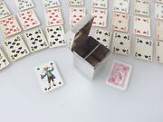 Silver Playing Card Box By Nathan And Hayes Chester 1901