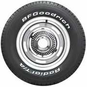 6305500 Bf Goodrich Radial T/a   White Letter   245/60r15