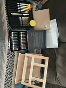 Acrylic Painting Set With Stand And Brushes