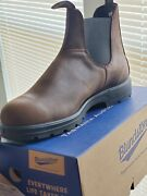 Blundstone 1609 Antique Brown Leather Chelsea Boot Size 9.5