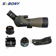 Telescope Spotting Scope Astronomy Eyepiece Camera 1.25 Adapter With Usb Cable