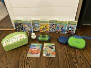 Leapfrog Leapster 2 + 7 Learning Games, Carrying Case, Charger, Tested