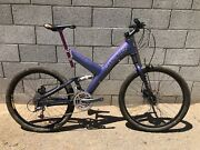 Cannondale Raven 1000 Super V Chromalusion Purpleen Xtr Shipping Included