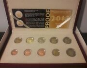 Best Price🅰️ Greece 2013 Proof 8 Euro Coin Set 🅰️+ 2 Euro Coins Commemorative