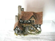 David Winter Cottage Miniature 1983 The Bothy Hand Made Hand Painted English Frb