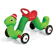 Kids Inchworm Ride On Toy Bouncer Worm Saddle Seat Indoor Outdoor Handle Safe
