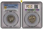 1 Dm Currency Coin 1958 D Proof Pcgs Certified Pr66 Only 200 Ex