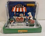Lemax Christmas Village Accessories Cocoa While Weand039re Waiting New