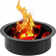 Fire Pit Ring 36-inch Outer/30-inch Inner Diameter Fire Pit 36 X 30 X 10 Inch