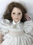 18andrdquo Porcelain Dolls By Pauline Cloth Body Adorable Brunette Girl Sweet Face O