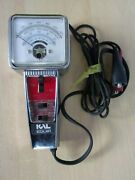 Dwell-tach Tester Vintage Kal Equip Model R- 11 Tester 6 Or 8 Cyl Low / High Rpm