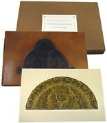 Avon Neal / Early American Stone Sculpture Found In The Burying Signed 1st 1981