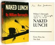 William S Burroughs / Naked Lunch Signed 1st Edition 1962