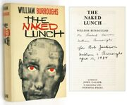 William S Burroughs / The Naked Lunch Signed 1st Edition 1964
