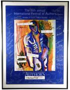 1998 International Festival Of Authors Promotional Poster / Signed