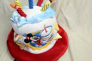 Disney Mickey Mouse Happy Birthday Hat Candle Light Up