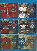 2009 Canadian Mint Montreal Canadiens Centennial 50 Cent Coin Set Coins 1 To 6