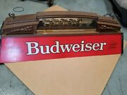 Vintage Budweiser Pool Table Light Clydesdale Bud Lite Collectible