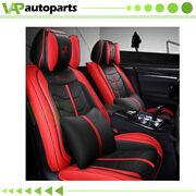 Car Seat Covers For Cars Full Set Universal 5-seats Car Suv Truck Pu Leather