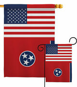 Us Tennessee Garden Flag States Regional Decorative Small Gift Yard House Banner