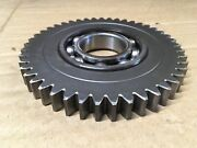 71270 - 45 Tooth Idler Gear And Used Bearing For Bush Hog Ghm 800 900 Disc Mower