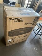 Summer Waves 18ft X 48in Frame Swimming Pool W/ Pump / Ladder Detroit Pick Up
